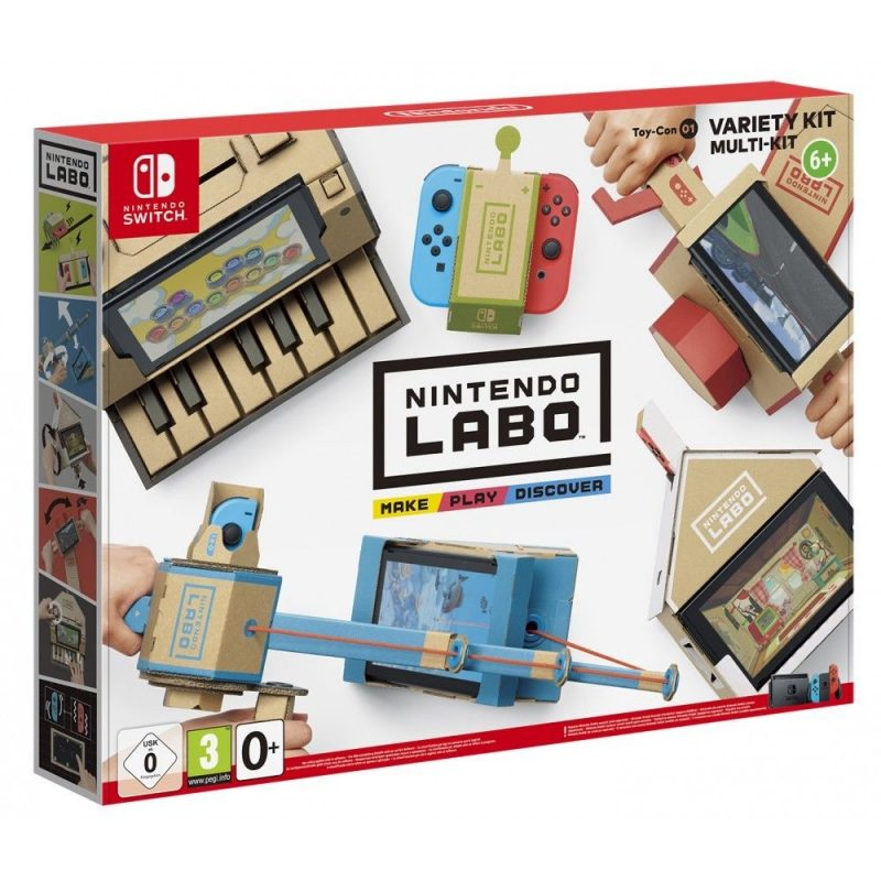 NINTENDO LABO MULTI KIT PARA NINTENDO SWITCH TOY CON 01 KIT VARIADO.