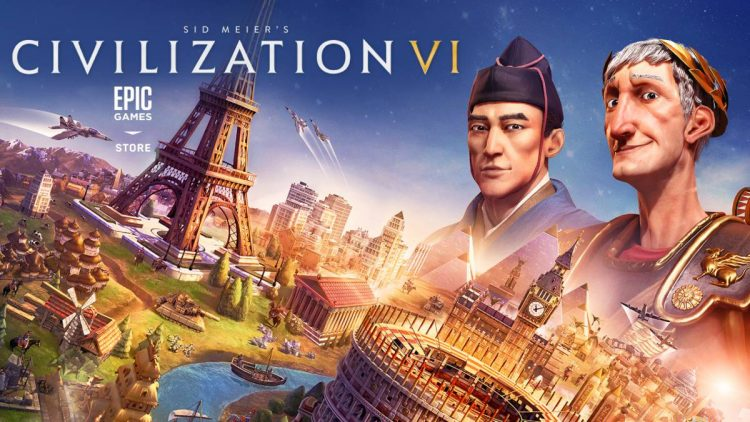 Civilization VI Gratis en Epic Games.