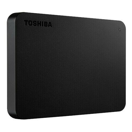 Toshiba Canvio Basics, Disco Duro, 2 TB, Negro.