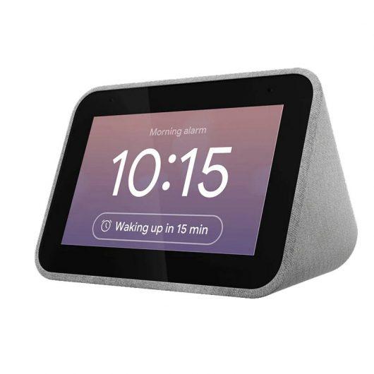 Lenovo Smart Clock Gris con Asistente de Google