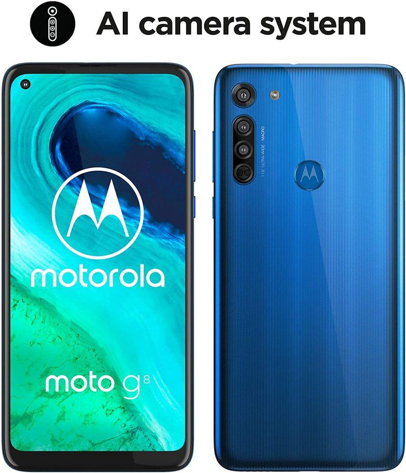 Motorola Moto G8 – 64 GB, 4 GB RAM