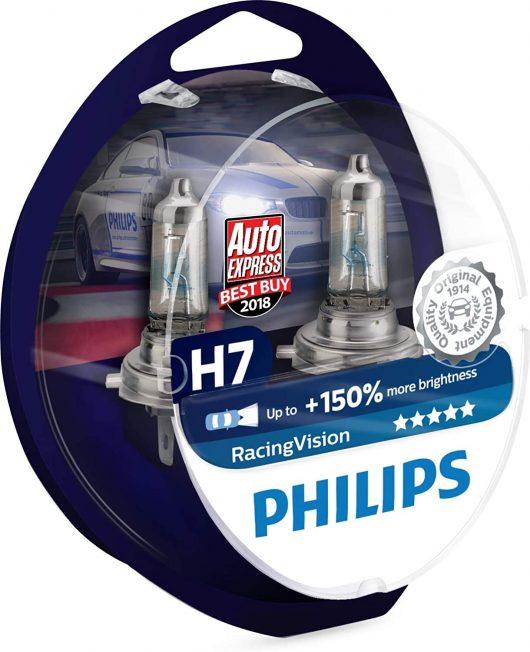 Philips RacingVision H7 Juego de Bombillas