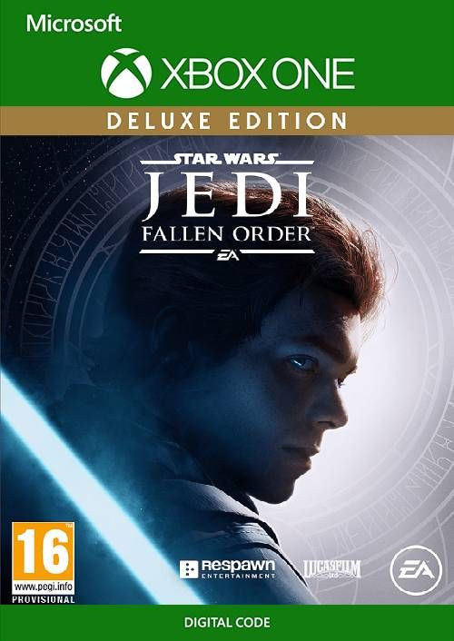 Star Wars Jedi: Fallen Order Deluxe Edition Xbox One.