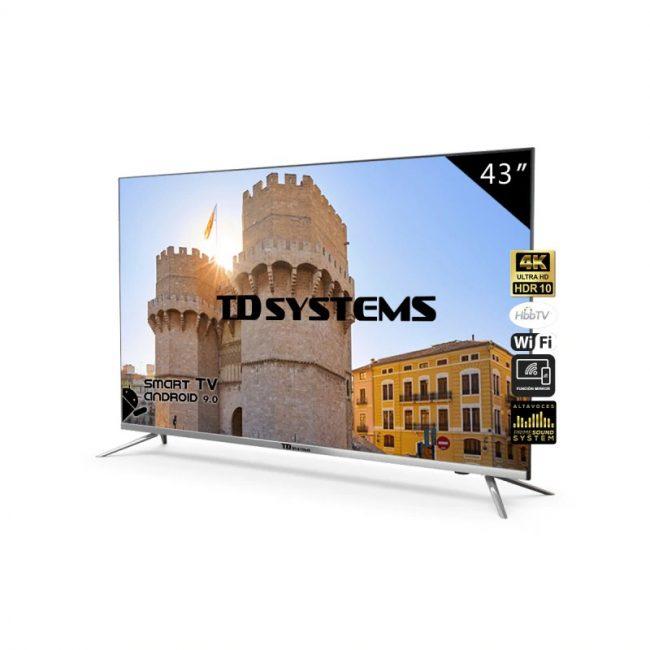 Televisores Smart TV 43 Pulgadas TD Systems