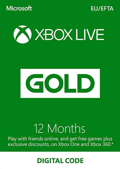 Xbox Live Gold 12 months Xbox Live Key EUROPE
