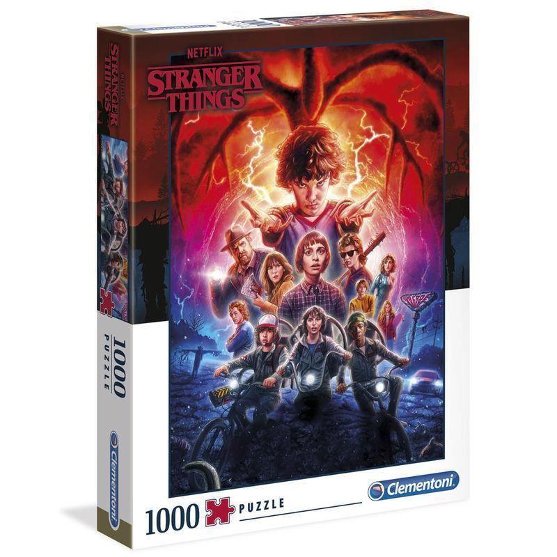 Puzzle Stranger Things 1000 piezas por sólo 17.95€
