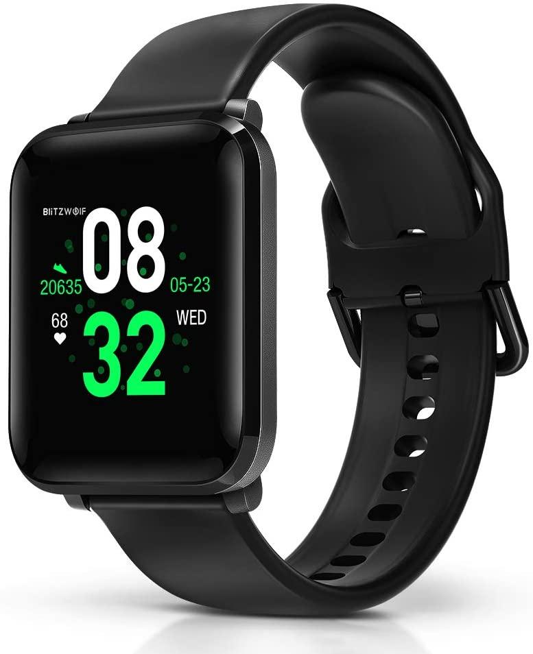 BlitzWolf Smartwatch, Reloj Inteligente IP68 Impermeable