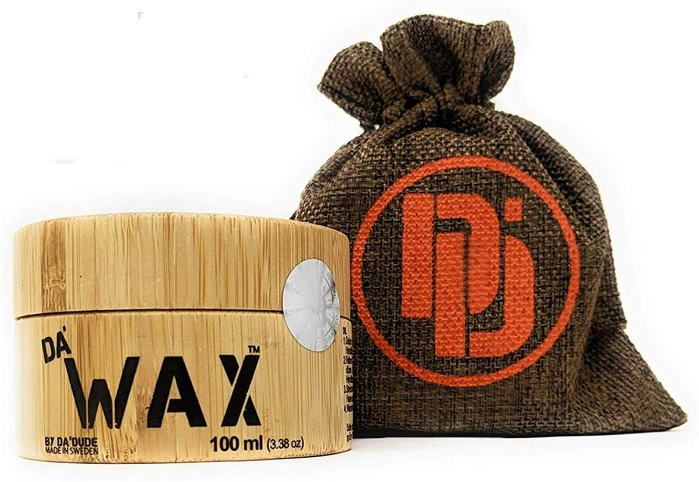 Da Dude Da Wax Cera Pelo Hombre Mate – Único Fijador de Peinado en un Envase Regalo de Madera