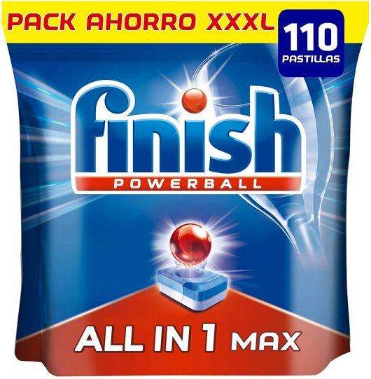 Pastillas para el lavavajillas Finish Powerball All in 1 Max
