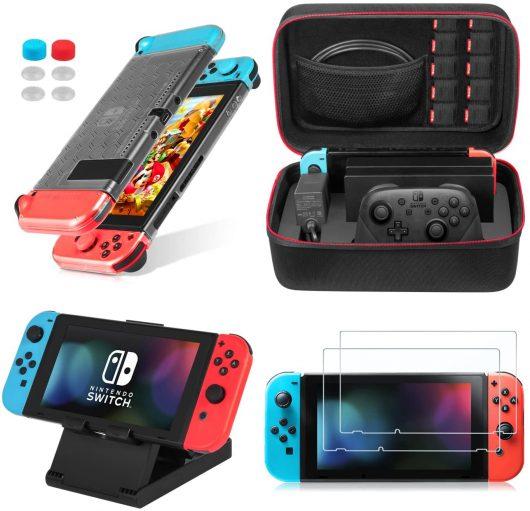 Accesorios 13 en 1 para Nintendo Switch