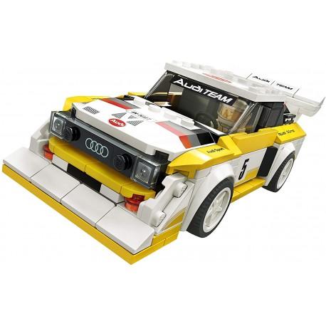 LEGO Speed Champions – 1985 Audi Sport quattro S1