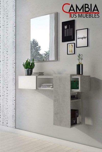 Mueble recibidor con Espejo