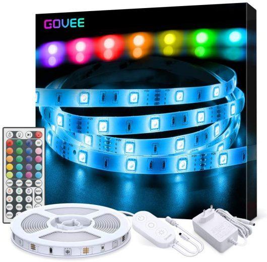 Tira LED 5M RGB con Control Remoto A+++