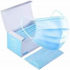 Pack 50 Mascarillas 3 Capas Protección partículas finas Mascarilla Higiénica