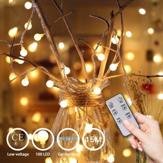 Guirnalda Luces 15 m 100 LEDs
