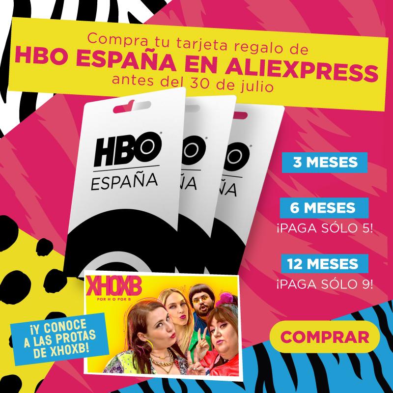 HBO Pin 12 meses 80,91€ / HBO Pin 6 meses 44,95€ / HBO Pin 3 meses 26,97€ – Sólo canjeable en España