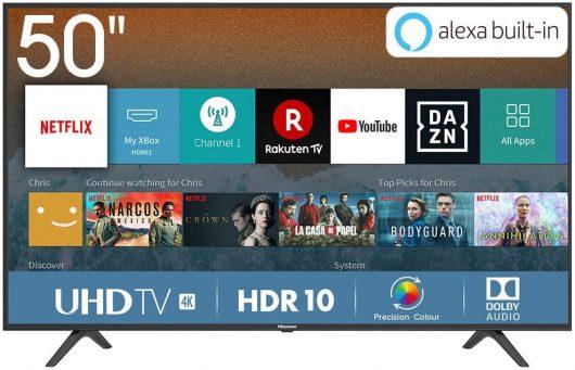 Smart TV 50′ Hisense H50BE7000