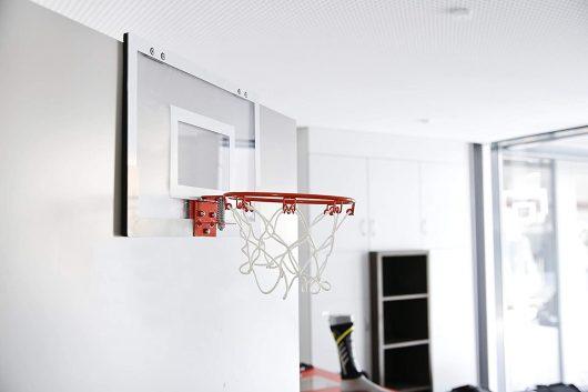 Minicanasta con Pegatinas NBA
