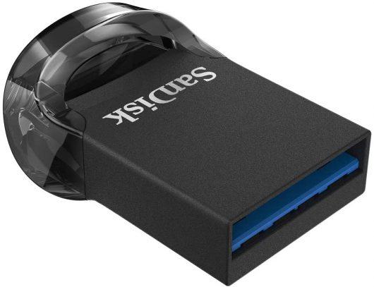 Memoria flash USB 3.1 de 128 GB SanDisk Ultra Fit