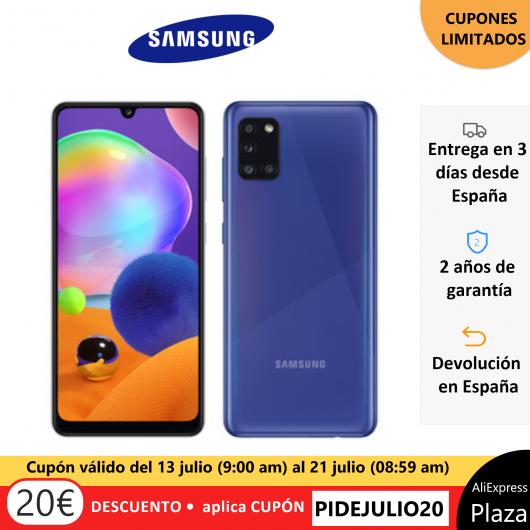 Smartphone Samsung Galaxy A31 4GB 64GB