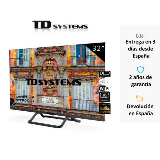 Smart TV 32 Pulgadas TD Systems