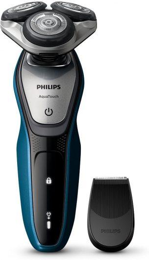 Afeitadora eléctrica, sin cable Philips AquaTouch