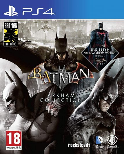 Batman PS4: Arkham Collection – Edición Exclusiva Amazon