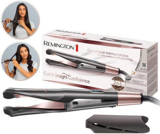 Plancha de Pelo Remington Curl & Straight Confidence S6606B