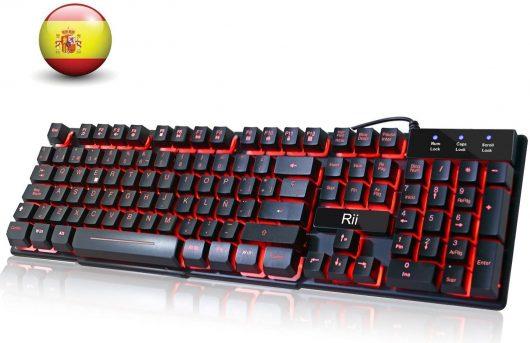 Teclado Gaming Rii RK100