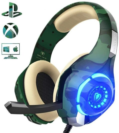 Auriculares Gaming Beexcellent para PS4, PC, Xbox One