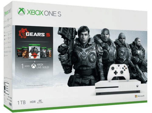 Xbox One S, 1 TB  + Gears 5
