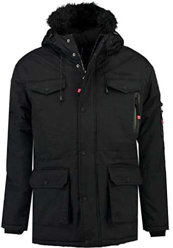 Geographical Norway Parka Hombre ALCALINE Negro S