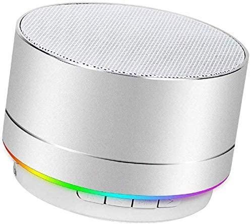 Altavoz Bluetooth portátil con Bajos potentes, Rango de conexión Bluetooth y guía de Voz para Android iOS PC y otros-S-BYYX-007