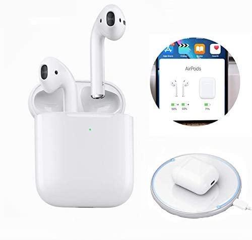 Auriculares Bluetooth, 2020 Nuevos Auriculares Inalámbricos Bluetooth IPX5 Auriculares Inalámbricos Bluetooth Deportivos Impermeables con Estuche de Carga para iOS Android PC Pad (BY-22)