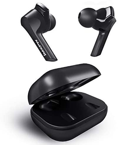 Auriculares Bluetooth,IMXPW X8 Sport Earphones Auriculares inalámbricos Auriculares internos Bluetooth 5.0 Sonido Envolvente con Graves 25 Horas con USB-C con micrófono para iOS Android