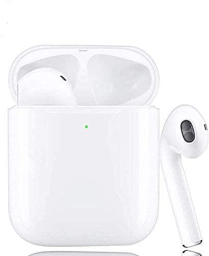 Auriculares inalámbricos Bluetooth Auriculares 5.0 Reducción de Ruido inalámbrica Hi-Fi Deportes inalámbricos Estéreo en la Oreja Auriculares Bluetooth Mini Auriculares para iOS Android (WT-4