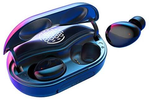 Auriculares inalámbricos IPX7 A prueba de agua Tres auriculares Bluetooth de tecnología diferente con sonido estéreo de alta fidelidad Auriculares con micrófono 140H Tiempo