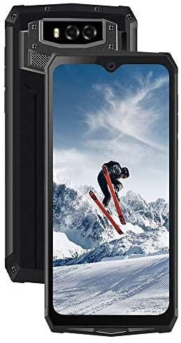 "Blackview BV9100 Móvil Resistente 13000mAh Batería 30W Carga Rápida (6.3"" FHD+ Waterdrop Screen, 4GB+64GB, 16MP+16MP, Dual SIM 4G, Android 9.0, Octa-Core, NFC, OTG, GPS) Móvil Antigolpes IP69K- Gris"