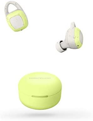 Energy Sistem Earphones Sport 6 True Wireless Light Lime (Auriculares inalambricos, Bluetooth, Control de reproducción y batería Recargable) – Lima