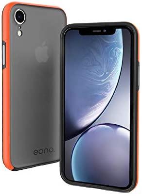 "Eono Funda iPhone XR, Anti- Choques y Anti-Arañazos Protección a Bordes y Cámara & Robusta Carcasa Híbrida TPU+ PC de Doble Capa Anti-arañazos Caso para iPhone XR-6.1"""