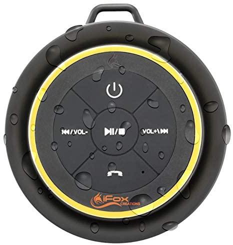 iFox iF012 – Altavoz inalámbrico portátil con Bluetooth, con 10 Horas de bateria Completamente Impermeable, Totalmente Sumergible Compatible con iPhone, iPad, iPod, Android, PC y Radio