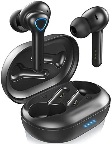 Motast Auriculares Inalámbricos Bluetooth 5.0, In-Ear Auriculares, Cancelación del Ruido CVC8.0, Aptx HD Calidad de Sonido, IP7 Impermeable Auriculares Deportivos, para Correr Deportivo al Aire Libre