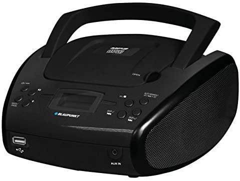 Reproductor Radio/CD/MP3/USB con Bluetooth – Blaupunkt BLP8300 Color Negro