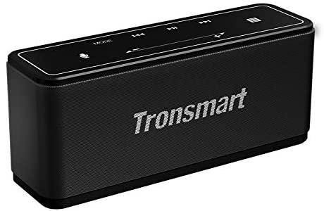 Tronsmart Mega Altavoz Bluetooth, Sonido Digital 3D, Panel Táctil, 40W Altavoz inalámbrico Portátil con TWS & NFC, 15H de Reproducción Continua y Manos Libres para Fiesta, Hogar, Playa, Viajes – Negro