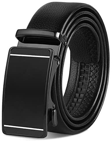 VBIGER Cinturón Cuero Cinturones Hebilla Automática