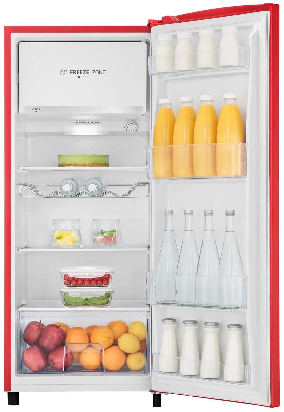 Hisense RR220D4AR2 Refrigerador,164L Frigorifico