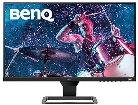 "BenQ EW2780 – Monitor de 27"" FullHD (1920×1080, 5ms, 75Hz, 3x HDMI, IPS, HDRi, FreeSync, Altavoces, Eye-care, Sensor Brillo Inteligente, Flicker-free, antireflejos, sin marco, VESA) – Gris"