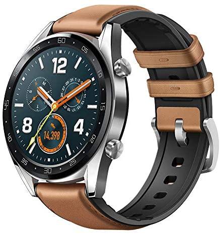Huawei Watch GT Fashion – Reloj (TruSleep, GPS, monitoreo del ritmo cardiaco), Marrón