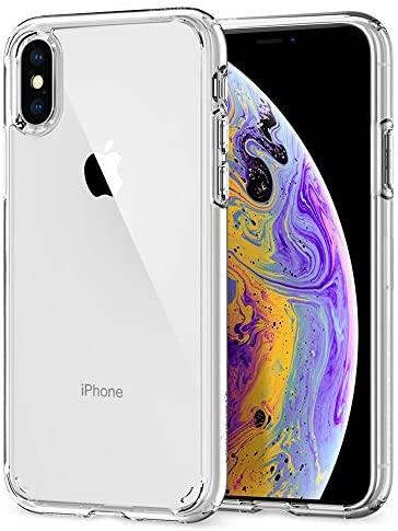 Spigen 057CS22127 Ultra Hybrid Funda para iPhone XS/X – Transparente