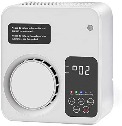 Trekoo – Purificador de aire para casa, ionizador de aire, generador de ozono, eliminador de olores para dormitorio, salón, aseo, oficina